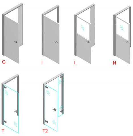 Porte senza telaio idee per la casa for Telaio porta